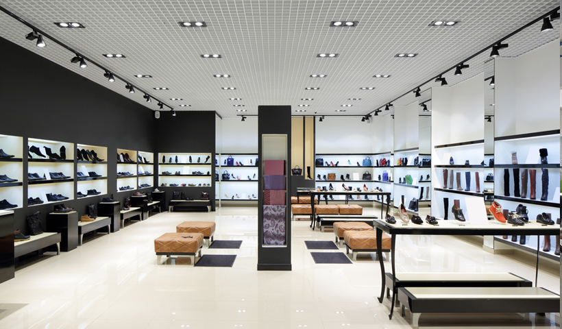 retail shopfitters image of modern space